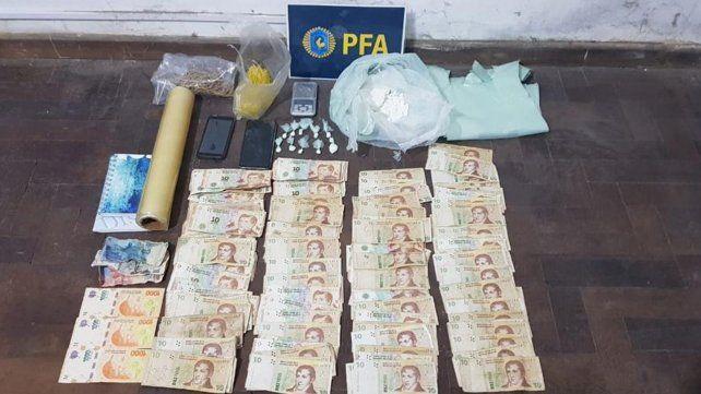 Atrapan a tres miembros de una organización narco en el macrocentro de Rosario