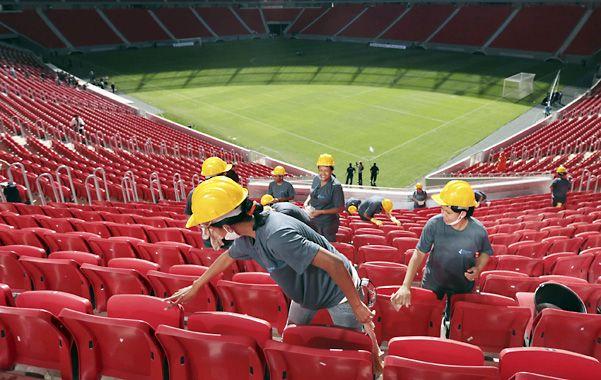 Mané Garrincha ya tiene su estadio