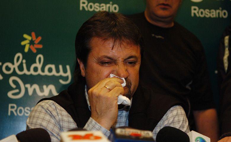 Entre lágrimas Caruso contó que López le pidió que dé un paso al costado