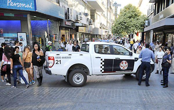 Reacción tardía. La GUM y la policía llegaron después de que se registraron los incidentes con los chicos.