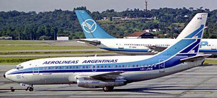 Aerolíneas: los pilotos fueron a la Justicia para pedir el pago de salarios