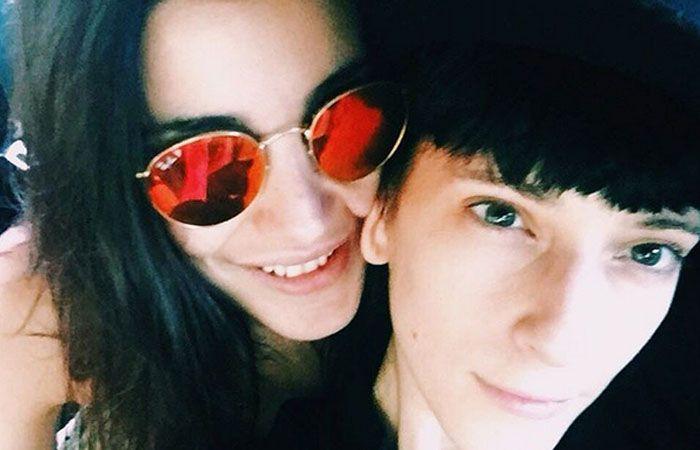 Lara y Andrea estan en pareja desde principios de febrero.