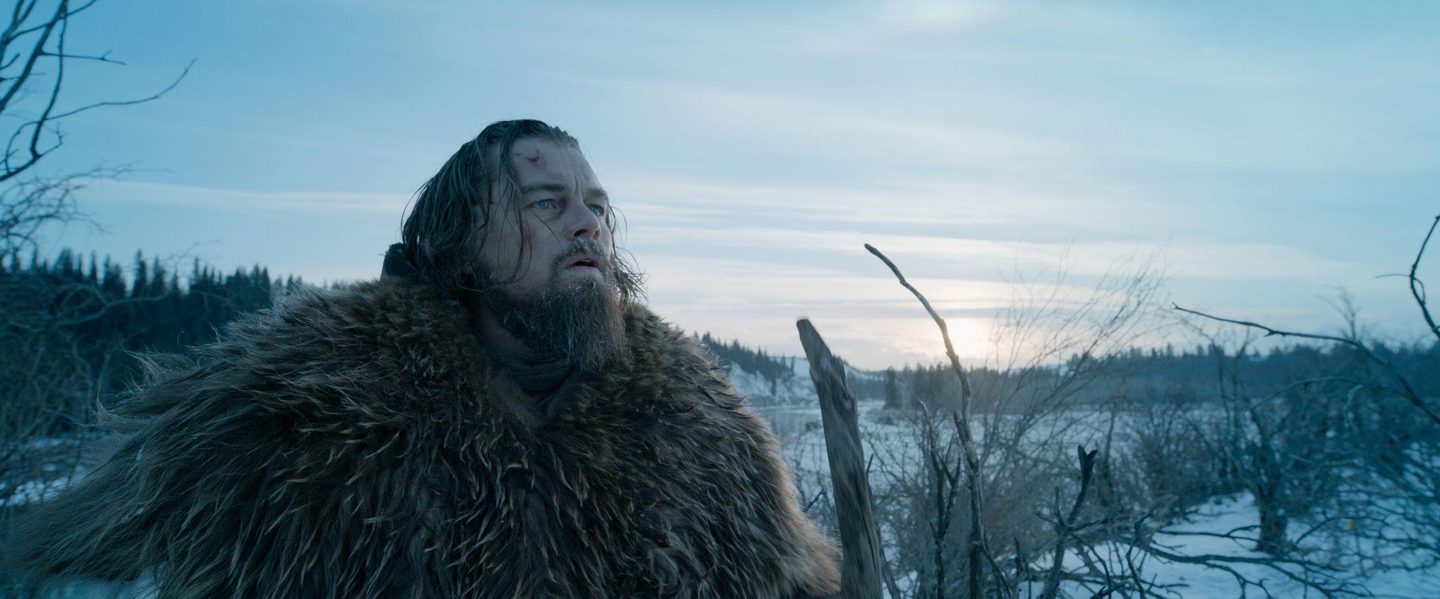 """Leonardo DiCaprio es el protagonista de """"El renacido"""""""