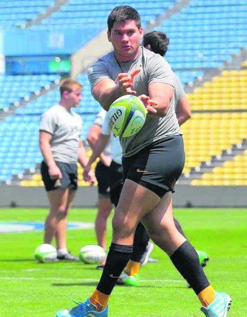 Oportunidad. El forward de Duendes jugó este año el Súper Rugby con Jaguares.