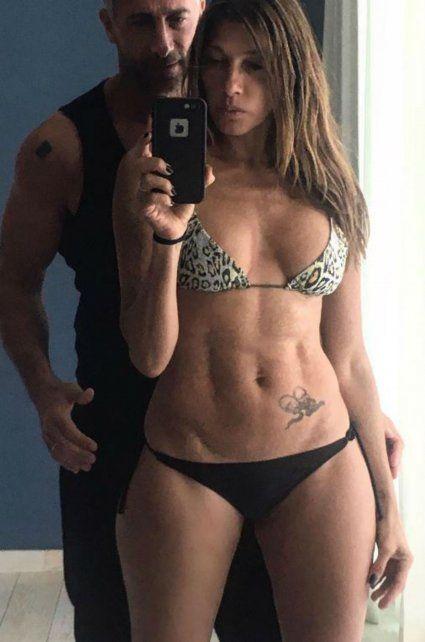 La selfie súper hot de Catherine Fulop y Ova Sabatini sin photoshop