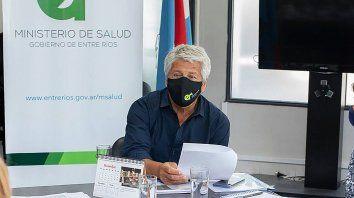 El director del hospital Centenario de la ciudad de Gualeguaychú, Eduardo Elías, dijo que recomendaría al gobernador Gustavo Bordet medidas similares a las de AMBA.