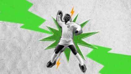 El salto del festejo.Santos contará un rol especial en este conjunto dado que Pelé también dará el presente en Fortnite.
