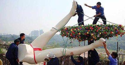 El parque temático sobre sexo en China se cayó antes de arrancar
