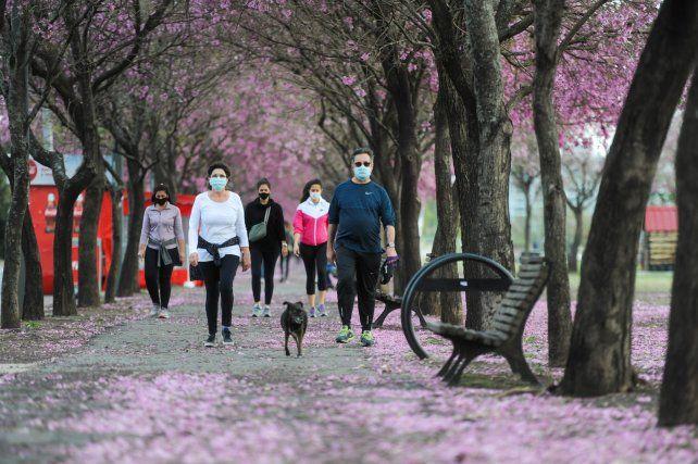 Salir a pasear al perro con tapabocas es una actividad de bajo riesgo