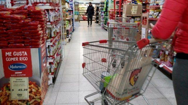 Góndolas. La inflación anual podría superar el 55%