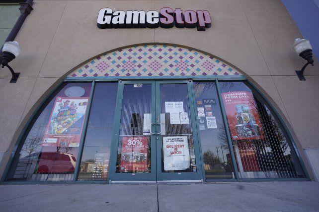 Una tienda de GameStop en Denver. Hay cientos de estos negocios por todo EEUU