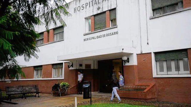 El Hospital Alberdi donde fueron derivados los heridos.