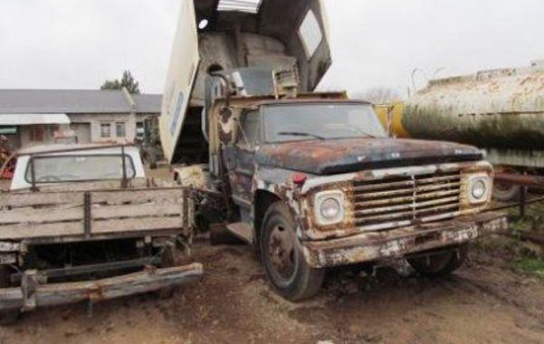 Deplorable. Los trabajadores exigen la restauración del parque automotor.