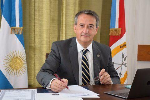 El diputado provincial Nicolás Mayoraz