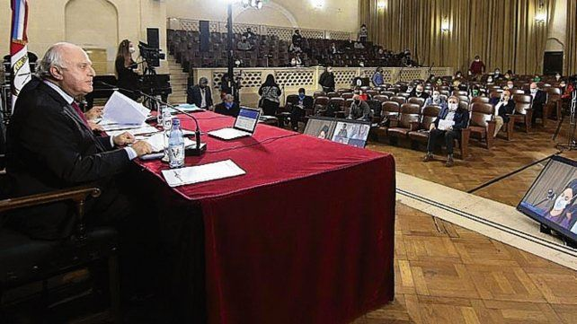 Lifschitz presidió la sesión de Diputados