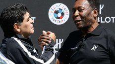 De Pelé a Diego Maradona: Siempre te aplaudiré