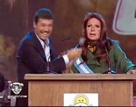 Aníbal Fernández pidió públicamente que no imiten a Cristina en Showmatch