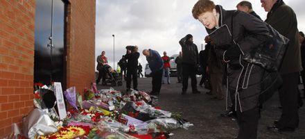 Ceremonias por el 50 aniversario del desastre aéreo del Manchester United