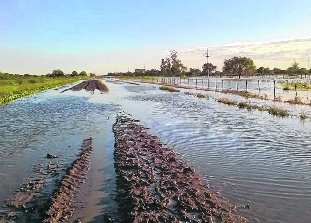 los desafíos. El problema de nuestro suelo es que no está en condiciones de infiltrar toda el agua que llueve.