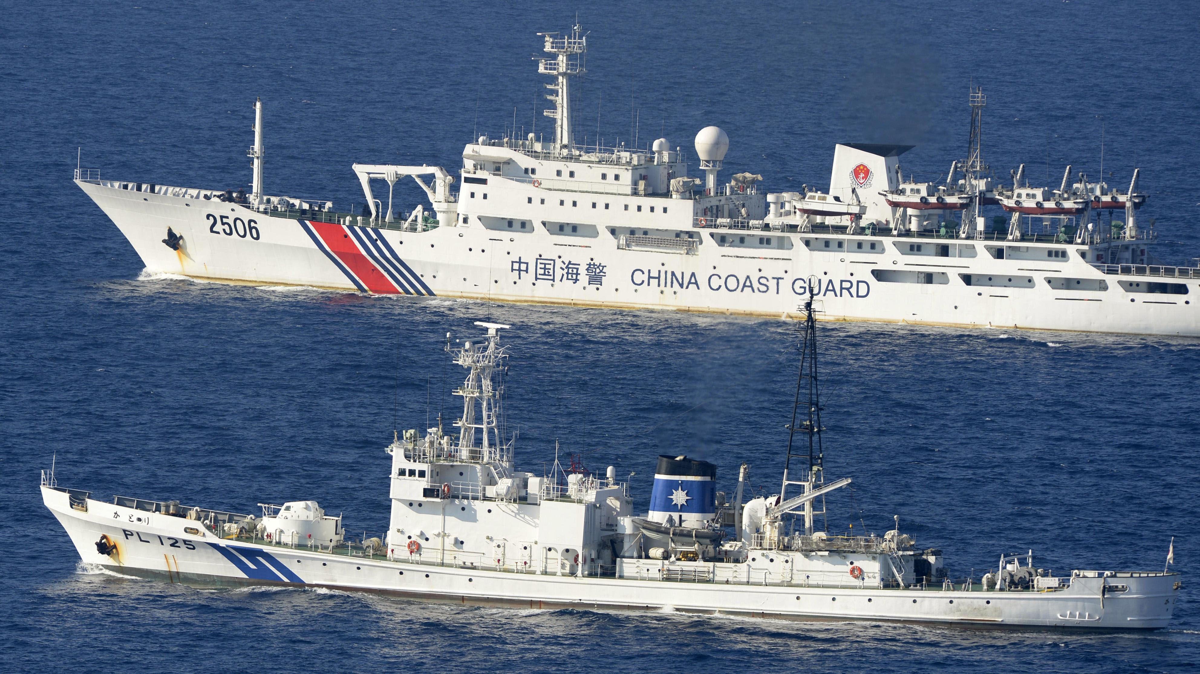 Los buques de China
