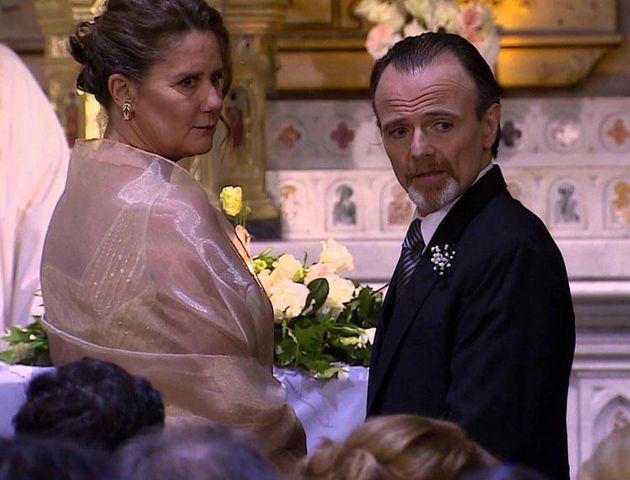 Verónica Llinás y Luis Machín.