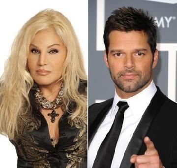 Ricky Martin podría participar en un sketch con Susana Giménez