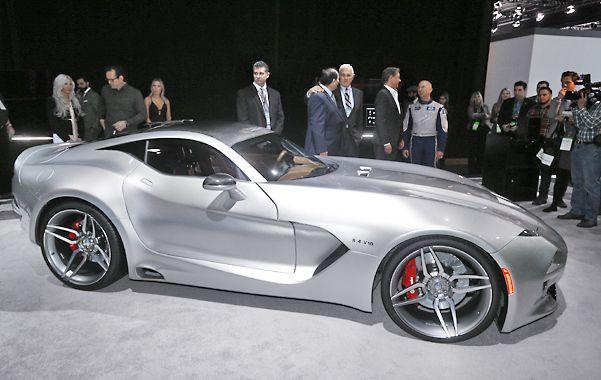 El VLF Force 1 fue presentado en la inauguración del salón del automóvil de Detroit.