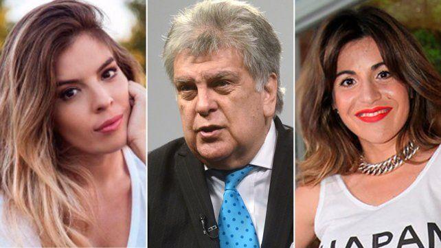 Dalma y Giannina Maradona siguen en guerra con Luis Ventura