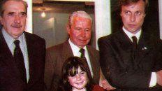 En el difícil momento que atraviesa su familia por la enfermedad de Sergio Varisco, su hija Lucía Varisco posteó una foto con la que recuerda a su abuelo