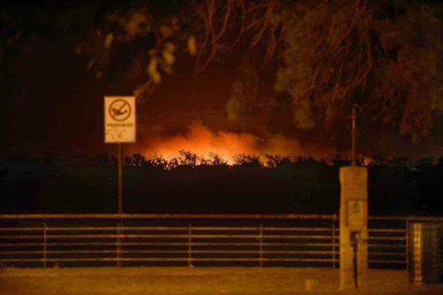 Javkin: Sospechamos que ha habido fuego encendido con bengalas desde avionetas