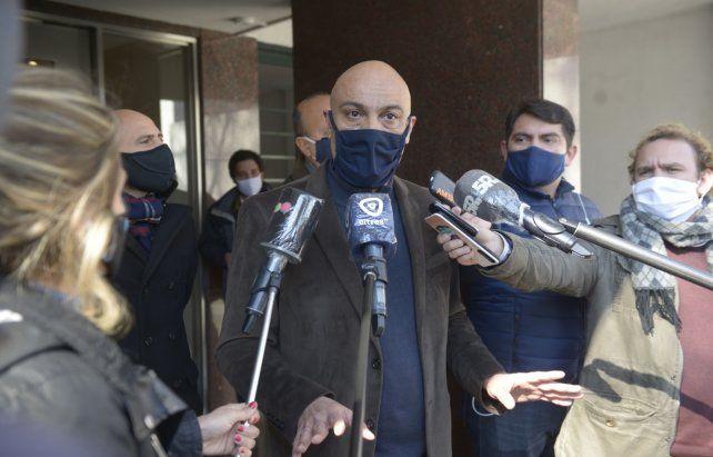 Nada que ver. El fiscal Ponce Asahad se desligó de las acusaciones y se puso a disposición de la Justicia.