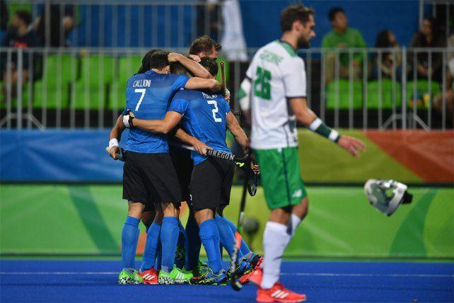 Los Leones vencieron a Irlanda y accedieron a los cuartos de final de los Juegos Olímpicos