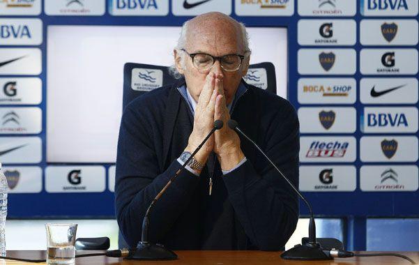 Bianchi le comunicó a Angelici que tenía pensado dirigir el equipo ante Vélez