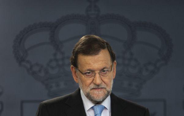 Desafío. Rajoy activó la maquinaria del Estado contra los independentistas.