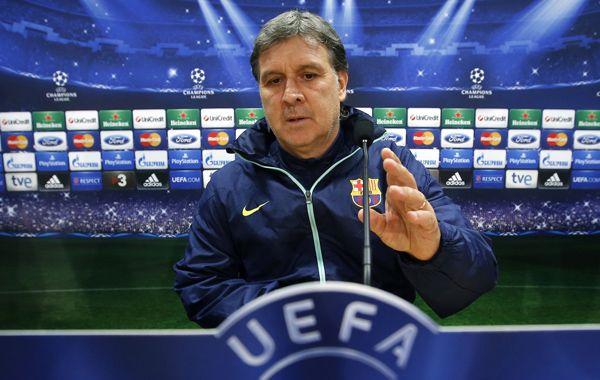 El Tata dijo que ahora es más difícil dirigir al Barcelona.