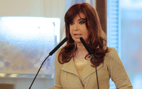 Movilidad. La presidenta Cristina Fernández de Kirchner formalizó la segunda actualización anual de haberes.