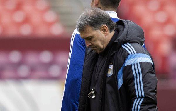 Martino: Debió haber tenido un gol más de diferencia