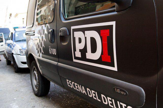 Hallaron un cadáver calcinado en camino rural de Pérez