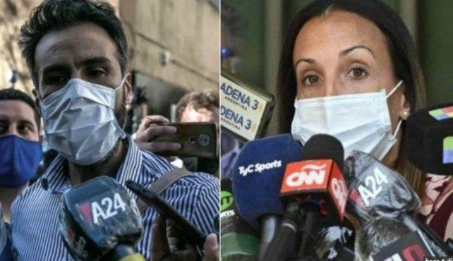 El médico Leopoldo Luque y la psiquiátra Agustina Cosachov