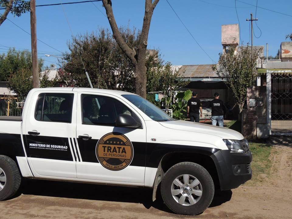 Operativos. Del procedimiento participaron la Policía de Investigaciones y personal de la Dirección Especial de Prevención del Delito de Trata de Personas.