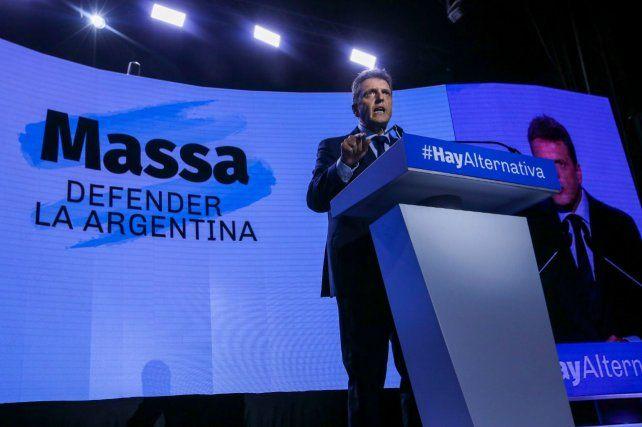El líder del Frente Renovador hizo la presentación de 10 compromisos por la Argentina