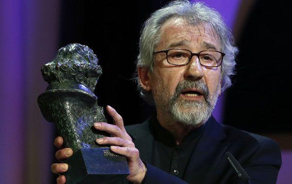 """El primer Goya. José Sacristán se llevó el primer Goya de su carrera con """"El muerto y ser feliz"""""""