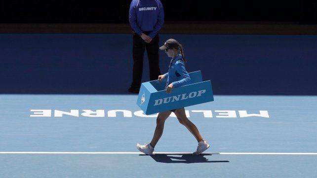 Un contagio de Covid paró el tenis en Melbourne: más de 500 aislados