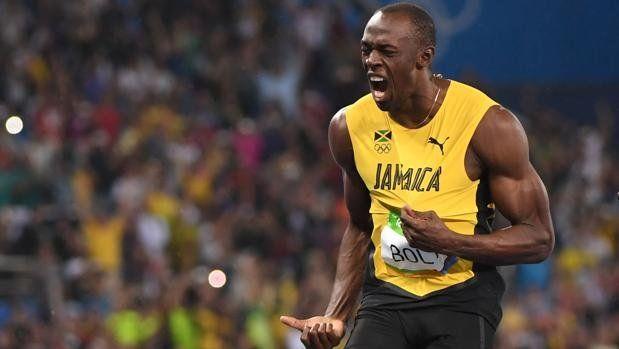 Bolt volvió a ganar el oro en los 200