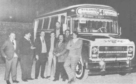 El viejo 54. Un Chevrolet con una carrocería San Antonio