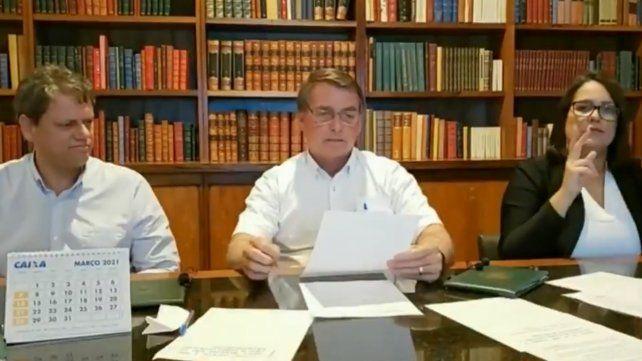 Bolsonaro anunció que viajará a Buenos Aires y respaldó las negociaciones de Fernández con el FMI