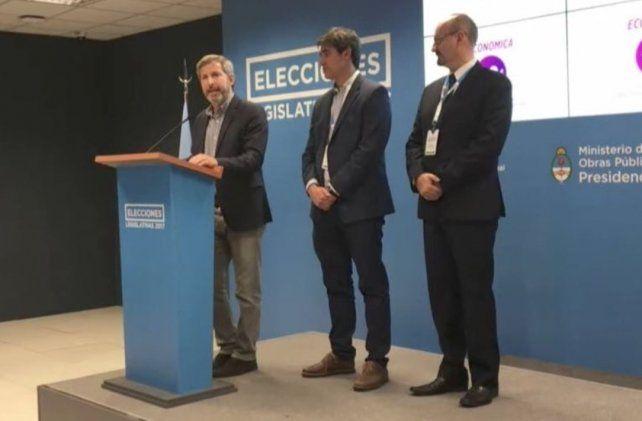 Frigerio destacó que a nivel nacional el 74 por ciento del electorado pudo sufragar