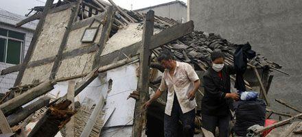 Réplica del sismo en China destruyó 71 mil viviendas