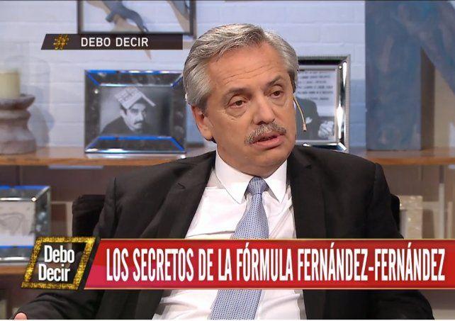 Alberto Fernández aseguró que la prioridad es mover la economía