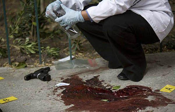La peor. Honduras mantiene por lejos la mayor tasa de muertes violentas.